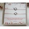 Kép 2/2 - Barátság karkötő szett díszdobozban