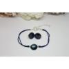 Kép 3/3 - Kézzel készült fülbevaló karkötő szett kísérőkártyával
