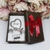 Kép 1/4 - Legjobb mama kulcstartó fülbevaló szett díszdobozban