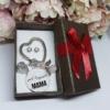 Kép 2/4 - Legjobb mama kulcstartó fülbevaló szett díszdobozban