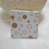 Kép 1/2 - Kör mintás ajándékdoboz 10x9,5 cm