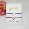 Kép 2/4 - Anya lánya karkötő szett kísérőkártyával