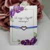 Kép 1/3 - Strasszos szív medálos karkötő kísérőkártyával