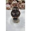 Kép 1/4 - Geneva római számos műbőr szíjas női karóra fekete