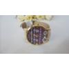Kép 2/3 - Geneva cikk cakk mintás bőr szíjas női karóra