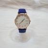 Kép 5/7 - Classy elegáns műbőr szíjas női karóra kék