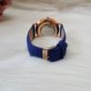 Kép 7/7 - Classy elegáns műbőr szíjas női karóra kék