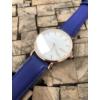 Kép 3/7 - Classy elegáns műbőr szíjas női karóra kék
