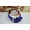 Kép 3/3 - Geneva római számos műbőr szíjas női karóra kék