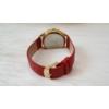 Kép 4/4 - Strasszköves díszítésű műbőr szíjas női karóra piros