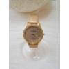Kép 1/4 - Strasszköves díszítésű műbőr szíjas női karóra arany