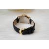 Kép 4/4 - Strasszköves földgömb mintás műbőr szíjas női karóra fekete