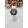 Kép 1/4 - Stars műbőr szíjas női karóra strasszkövekkel fehér