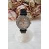 Kép 1/5 - Strasszköves díszítésű elegáns női óra fekete