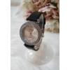 Kép 2/5 - Strasszköves díszítésű elegáns női óra fekete
