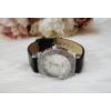 Kép 3/5 - Strasszköves díszítésű elegáns női óra fekete