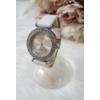 Kép 2/5 - Strasszköves díszítésű elegáns női óra fehér