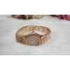 Kép 3/4 - Fémszíjas karóra, strasszokkal díszítve rose gold