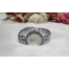 Kép 3/4 - Fém szíjas karóra strasszkövekkel díszítve