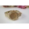 Kép 3/7 - Csupa strassz női karóra arany szín
