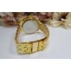 Kép 3/3 - Geneva strasszos fém szíjas női karóra