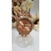 Kép 1/3 - Geneva strasszos fém szíjas női karóra