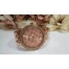 Kép 2/3 - Geneva strasszos fém szíjas női karóra