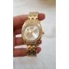 Kép 4/4 - Pillangó mintás fém szíjas női karóra arany szín