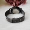 Kép 4/4 - Classy fém szíjas elegáns női karóra fekete