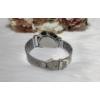 Kép 4/4 - Geneva fém szíjas elegáns női karóra ezüst