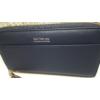 Kép 5/8 - Just for you egyszínű sötétkék női pénztárca bojt dísszel