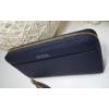 Kép 6/8 - Just for you egyszínű sötétkék női pénztárca bojt dísszel