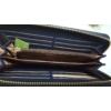 Kép 8/8 - Just for you egyszínű sötétkék női pénztárca bojt dísszel
