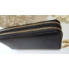 Kép 2/6 - Dupla fakkos vastag pakolós női pénztárca fekete