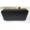 Kép 3/6 - Dupla fakkos vastag pakolós női pénztárca fekete