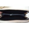 Kép 4/6 - Dupla cipzáros egyszínű női pénztárca válltáska
