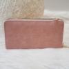 Kép 1/6 - Dupla cipzáros egyszínű női pénztárca válltáska