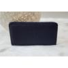 Kép 1/4 - Egyszínű női pénztárca sötétkék