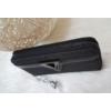 Kép 2/4 - V díszes elegáns női pénztárca fekete