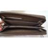 Kép 4/4 - V díszes elegáns női pénztárca barna