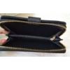 Kép 5/6 - Csipke virág mintás nagy méretű pénztárca fekete