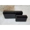 Kép 5/7 - Lakk fekete 2 db-os pénztárca ajándékszett díszdobozban