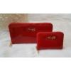 Kép 3/7 - Lakk piros 2 db-os pénztárca ajándékszett díszdobozban