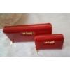 Kép 4/7 - Lakk piros 2 db-os pénztárca ajándékszett díszdobozban