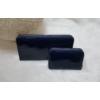 Kép 5/7 - Lakk sötétkék 2 db-os pénztárca ajándékszett díszdobozban