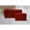Kép 4/7 - Kígyóbőr mintás 2 db-os pénztárca ajándékszett díszdobozban