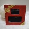 Kép 1/7 - Kígyóbőr mintás 2 db-os pénztárca ajándékszett díszdobozban