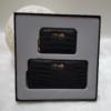 Kép 2/7 - Kígyóbőr mintás 2 db-os pénztárca ajándékszett díszdobozban
