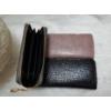 Kép 2/4 - Kígyóbőr mintás női pénztárca fekete