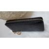 Kép 3/4 - Kígyóbőr mintás női pénztárca fekete